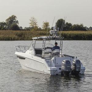 lancha Cabin Cruiser com motor de popa / bimotor / open / de pesca esportiva