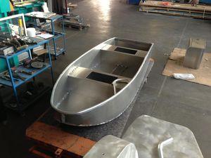 bay boat com motor de popa / de pesca esportiva / em alumínio