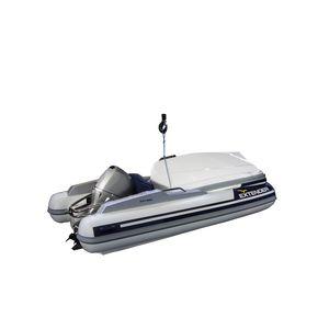 barco inflável com motor de popa / dobrável / com console lateral / de navegação