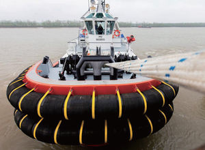 defensa para barco de trabalho / para rebocador / de proa / de canto