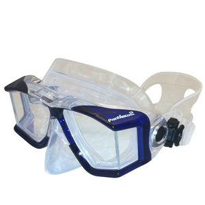 máscara de mergulho 4 vidros