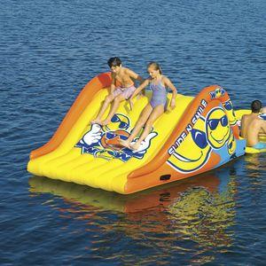 equipamento de diversão aquática escorregador / inflável / flutuante