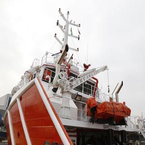 turco para barco de salvamento