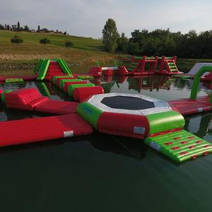 equipamento de diversão aquática cama elástica / inflável / flutuante