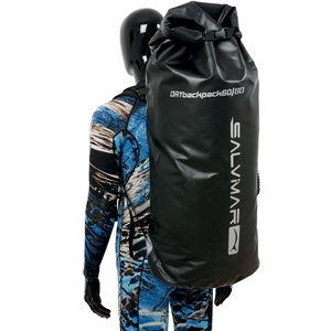 mochila para nadadeiras de mergulho