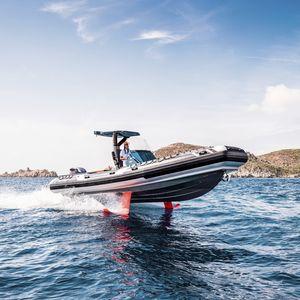 barco inflável voador