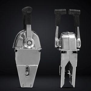 alavanca de comando para motor / mecânica / alavanca múltipla / para barco