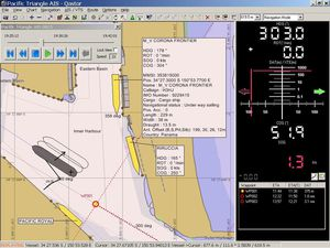 software de navegação