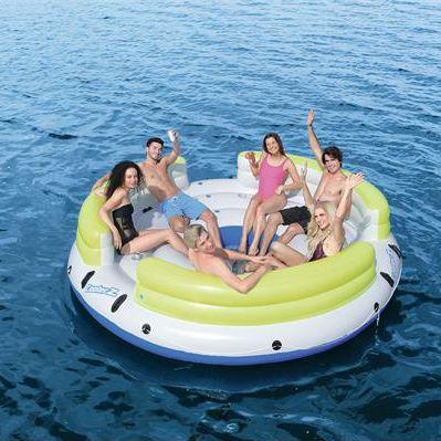 sofá flutuante de 6 lugares