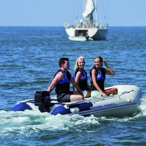 barco inflável com motor de popa / dobrável / bote auxiliar para iate / máx. 5 pessoas