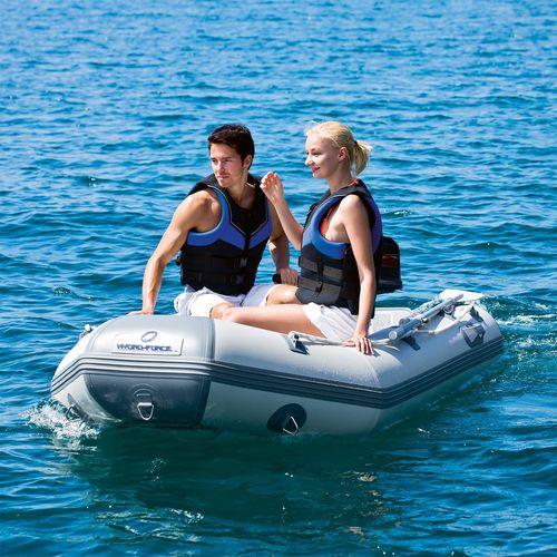 barco inflável com motor de popa / dobrável / bote auxiliar para iate / máx. 4 pessoas