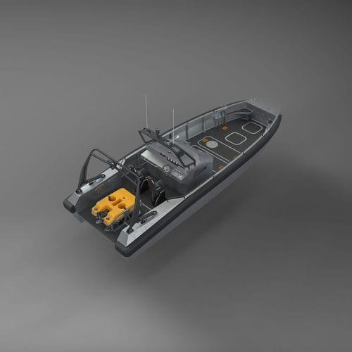barco utilitário / barco de serviço / barco para levantamentos hidrográficos / barco auxiliar para mergulho