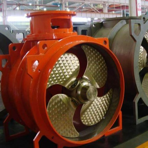 propulsor de proa / de popa / para navio / elétrico