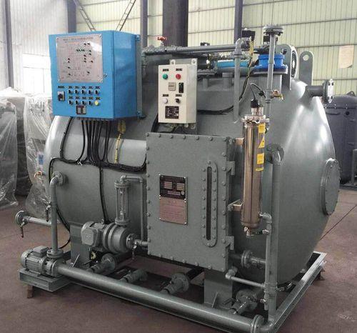 sistema de tratamento de águas residuais / para navio / biológico / de membrana