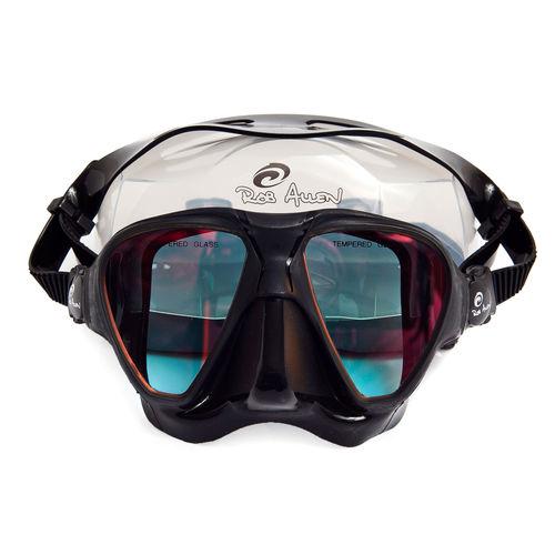 máscara de mergulho de duas lentes / anti-UV