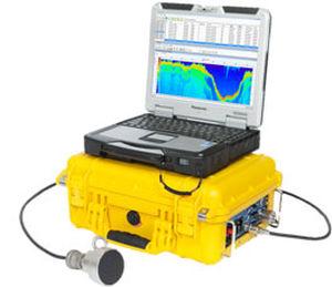 sonar para estudos batimétricos / multifeixe / portátil