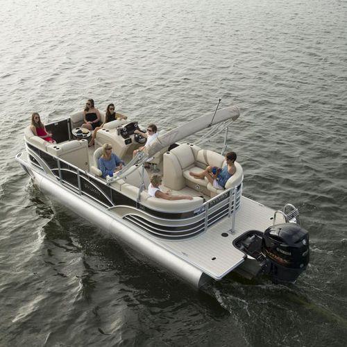 pontoon boat com motor de popa / máx. 12 pessoas