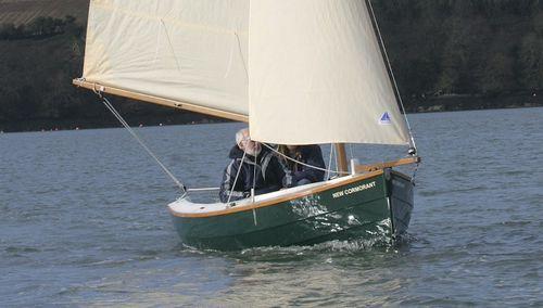 barco de vela ligeira clássico