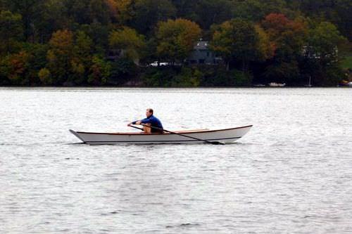barco a remo tradicional / skiff duplo