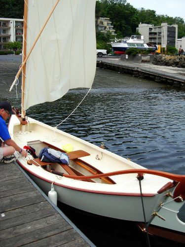 barco tradicional a remo