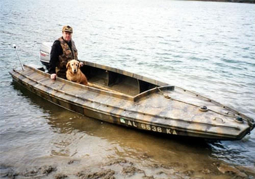 jon boat com motor de popa / de pesca esportiva