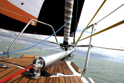 enrolador de tambor para veleiro