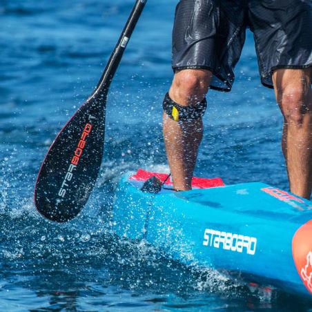 pagaia para prancha de stand-up paddle / de águas calmas / simétrica / simples