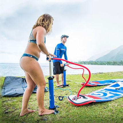 inflador de pistão / manual / para prancha de stand-up paddle