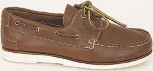 calçado de convés / em couro