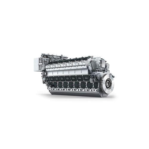 motor para navio semirrápido / a diesel / Tier 2