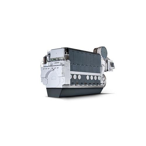 motor para navio semirrápido / auxiliar / a diesel / Tier 2