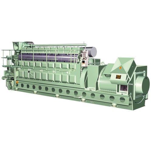 grupo gerador de energia para navio