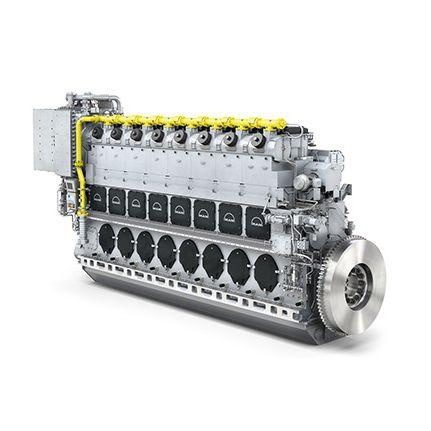 motor para navio a gás / bicombustível / a óleo combustível pesado / Tier 2
