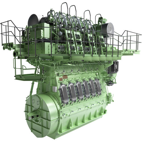 motor para navio lento / a diesel / Tier 2