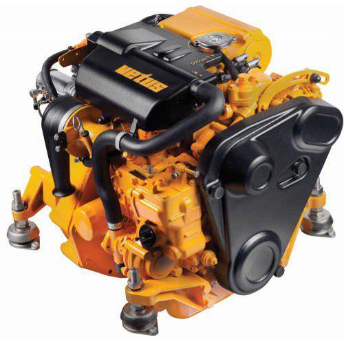 motor de centro / para embarcação de recreio / a diesel / atmosférico