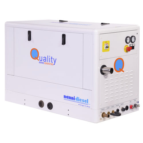 grupo gerador de energia para barco / a diesel / insonorizado