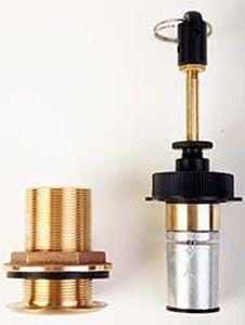 sistema elétrico de prevenção da corrosão e da eletrólise para barcos (retrátil)