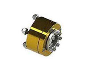 acoplamento mecânico rígido / para barco / para eixo de transmissão / antivibração