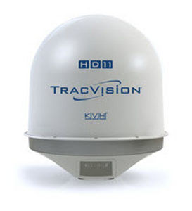 antena de TV / de satélite / para barco / radome