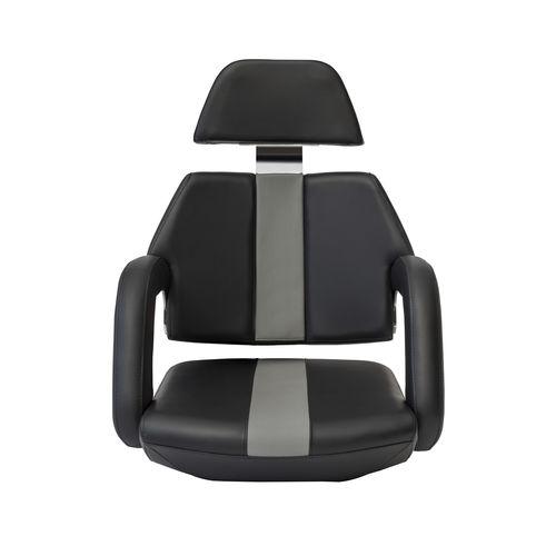 assento de piloto / para barco / com braços / fixo