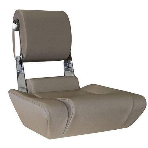 assento de piloto / para barco / ajustável / com encosto alto