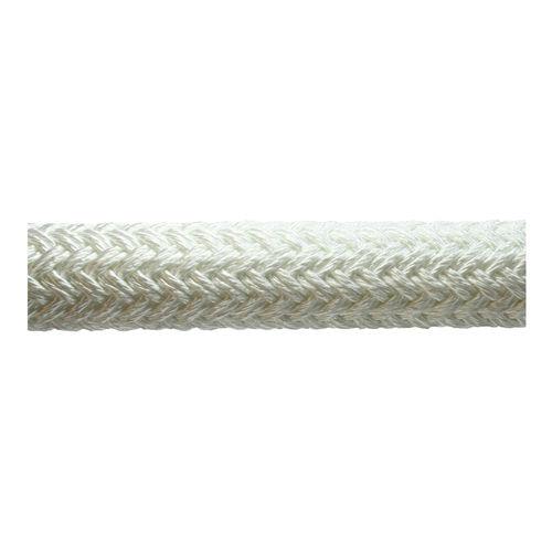 cabo de amarração / com trançado simples / para navio / alma em nylon