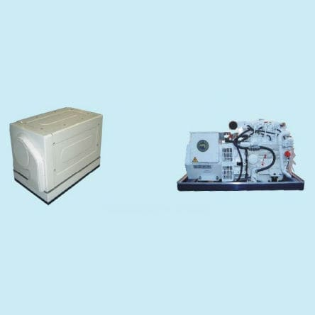 grupo gerador de energia para barco / a diesel / lento