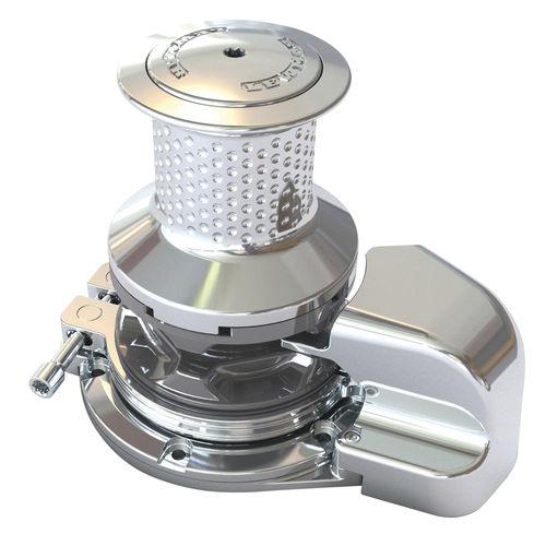 molinete elétrico / hidráulico / para iate / vertical