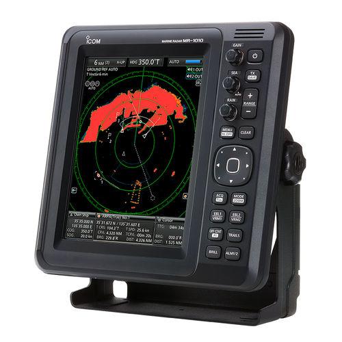 radar para barco / ARPA / colorido