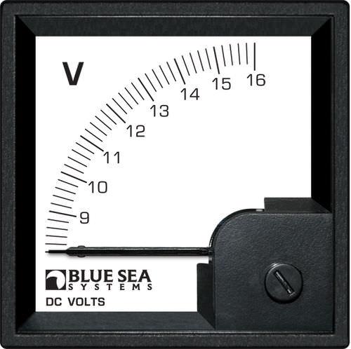 voltímetro para barco