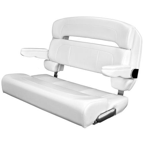 assento de piloto / para barco / com braços / de 2 lugares