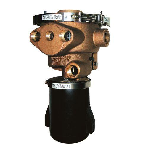 filtro de água bruta / para barco / autolimpante