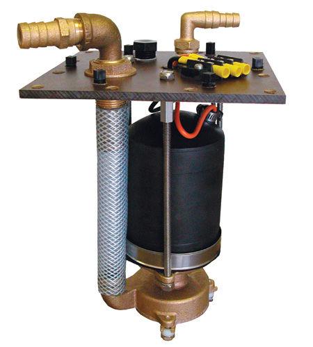 bomba para barco / trituradora / para vaso sanitário / elétrica