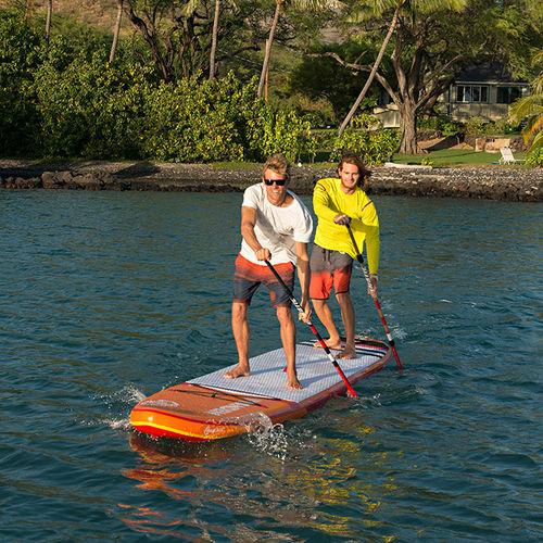 prancha de stand-up paddle allround / de windsurf / inflável / para 6-8 pessoas